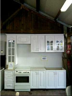 cuisine elements 240cm sans electro menager d 39 occasion. Black Bedroom Furniture Sets. Home Design Ideas