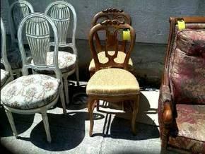 Paire de chaise d 39 occasion - Electro depot st jean de vedas ...