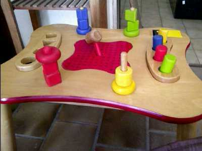 table de jeu pour enfant d 39 occasion. Black Bedroom Furniture Sets. Home Design Ideas